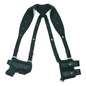 Horizontal Carry Shoulder Holster.