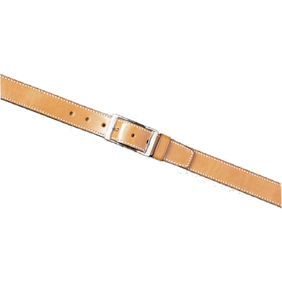 "1.5"" Unlined Leather Belt"