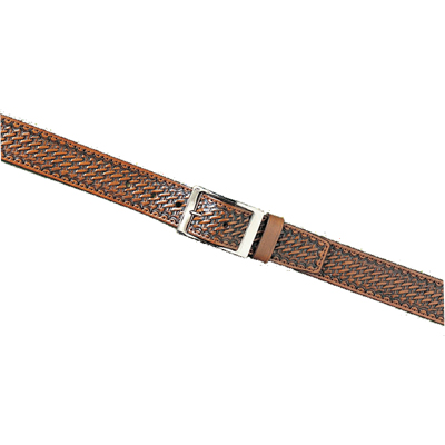 "1.5"" Suede Lined Leather Belt"