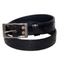 "2"" Suede Lined Leather Belt"