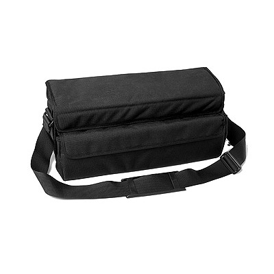Soft, padded equipment bag for electrical items