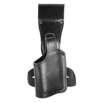 Low Drop Swivel Holster with Elastic Leg Tie.